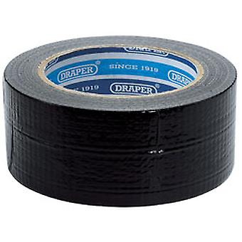 Draper 49432 33m x 50mm sort Duct Tape rulle