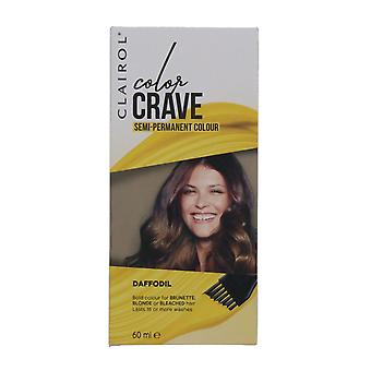 Clairol Color Crave 60ml Semi Permanent Hair Colour Daffodil