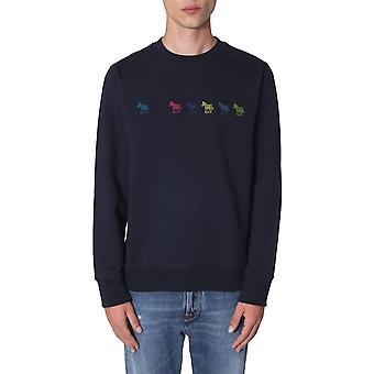 Ps Door Paul Smith M2r027reap111849 Men's Blue Cotton Sweatshirt