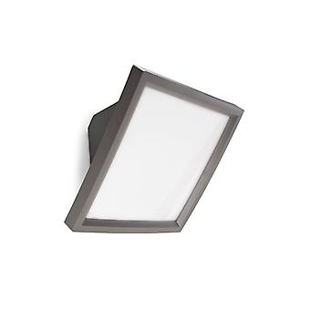 Access Wall Lamp, Polycarbonate, Gray
