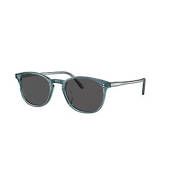 Oliver Peoples OV5397SU 1617R5 Washed Teal/Carbon Grey Sunglasses