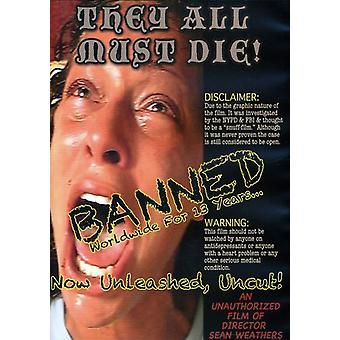 They All Must Die! [DVD] USA import