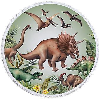 Dinosaurs ranta pyyhe