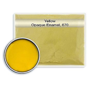 Chumbo livre esmalte amarelo, 670, 25gm