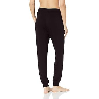 Mae Women's Standard Supersoft francese Terry Lounge Jogger, Nero, X-Large