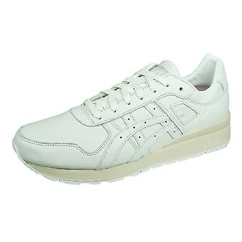 Asics GT II Mens Leather Trainers / Shoes - White