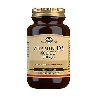 Vitamin D3 100 softgels of 10g
