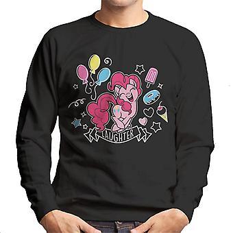 My Little Pony Pinkie Pie Vol gelach Men's Sweatshirt