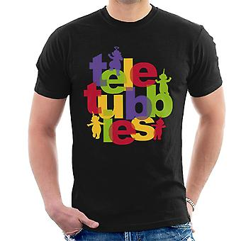 Teletubbies Retro Logo Men's T-Shirt