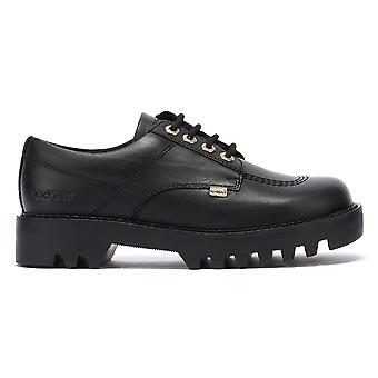 Chaussures kickers Kizziie Derby Womens Black Leather