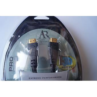 Acoustic Research PRO II  1440 p HDMI-Kabel mit Ethernet 0,9 m