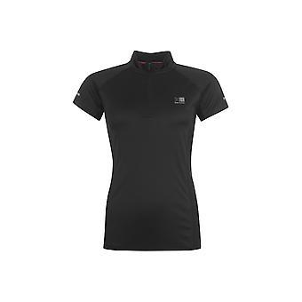 Karrimor quarter  Zip Short Sleeve T Shirt
