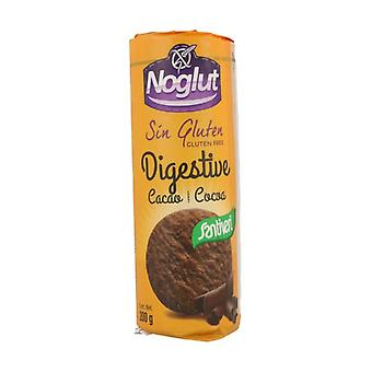Digestive Gluten Free Cookies with Cocoa 200 g (Cocoa)