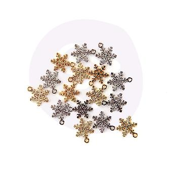 Prima markkinointi joulu maassa lumihiutale charmia