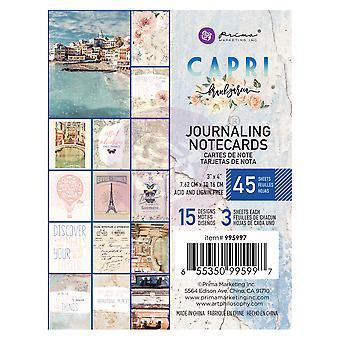 Prima Marketing Capri 3x4 Inch Journaling Cards