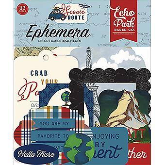 Echo Park Scenic Route Ephemera