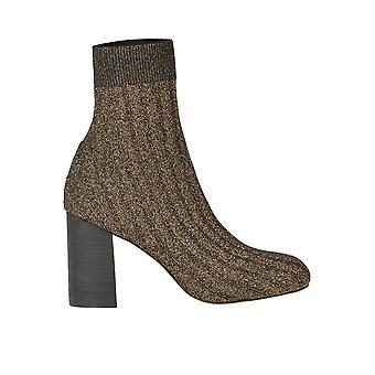 Malìparmi Ezgl194035 Femmes's Gold Fabric Ankle Boots