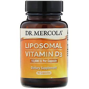 Dr. Mercola, Liposomal Vitamin D3 , 10,000 IU, 90 Capsules
