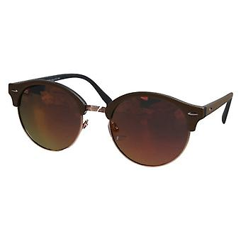Gafas de sol Panto rojo/marrón para mujer (PZ20-042)