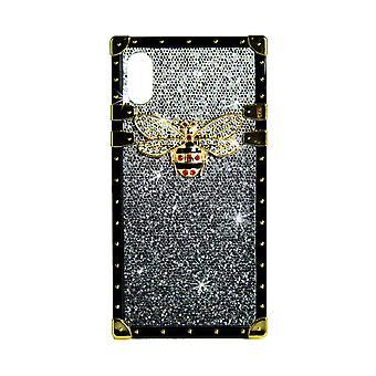 telefon tilfelle eye-trunk bee GG for iPhone XR (svart)