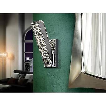 Integrated LED Crystal Wall Lamp Chrome