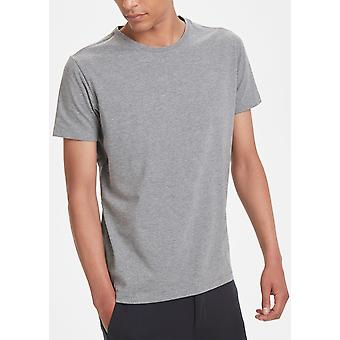 Jermalink Dark Grey Melange Stretch T-Shirt