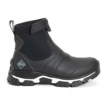 Muck Boots Apex Mid Zip Ladies Rubber Waterproof Boots Black