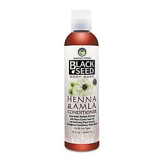 Amazing Herbs Black Seed Henna and Amla Conditioner, 8 oz
