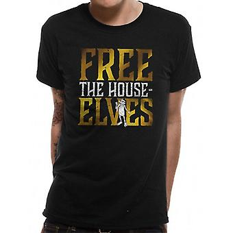 Harry Potter Unisex Adults Free The House Elves Design T-shirt