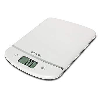 Salter Aquatronic Kitchen Scales White 1056WHDR