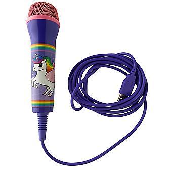 Unicorn friends universal usb microphone (ps4, xbox one, nintendo switch, pc)