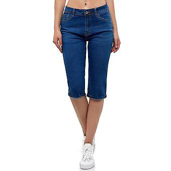 Women Short Capri Jeans Shorts Bermuda Summer Pants High Waist Design Oversize