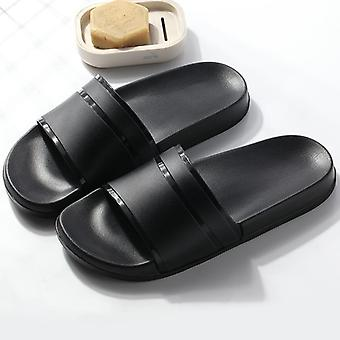 New Hot Summer Men Slippers Casual Shoes Non-slip Slides Bathroom Sandals Sole