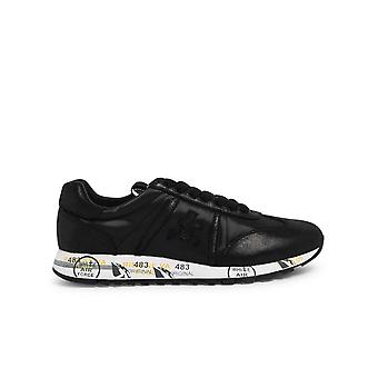 Premiata Lucyd3304 Women's Black Leather Sneakers