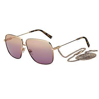 Lunettes de soleil Givenchy GV7183/S EYR/O9 Gold Pink/Plum Gradient