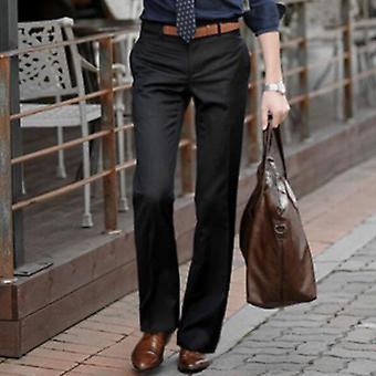 Flared Pants, Male Summer Straight Suit Pant, Hot Feet Trousers,mal