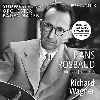 Wagner / Rosbaud - Hans Rosbaud Conducts Richard Wagner [CD] USA import