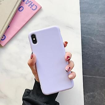 Candy Color Soft Tpu Rubber Silicone Phone Back Cover