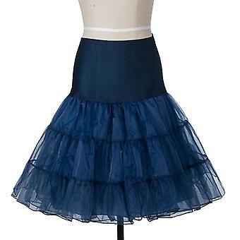 Petticoat Underskirt Fluffy para casamento noiva vintage feminino vestido de baile