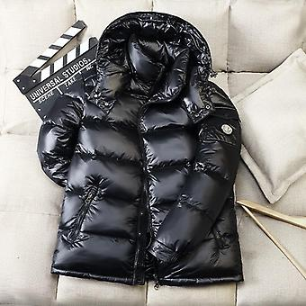 Winter New Men's Hooded Casual Down Jacket Thick And Warm