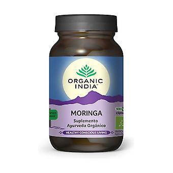 Organic Moringa 90 vegetable capsules