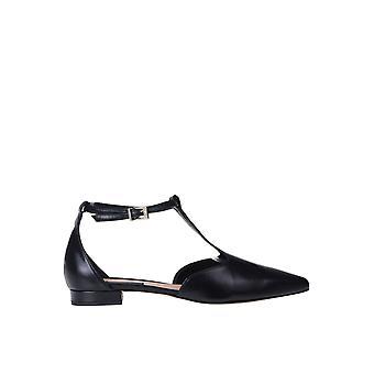 Andrea Pinto Ezgl438005 Kvinder's Sorte læder sandaler