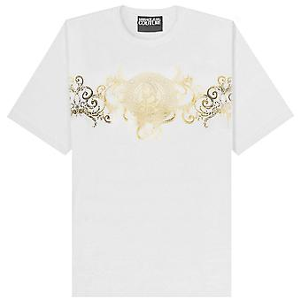 Versace Jeans Couture Adriano Foil Print T-Shirt