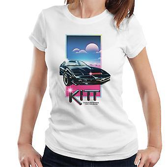 Knight Rider Knight Industries Dos Mil Mujeres's Camiseta