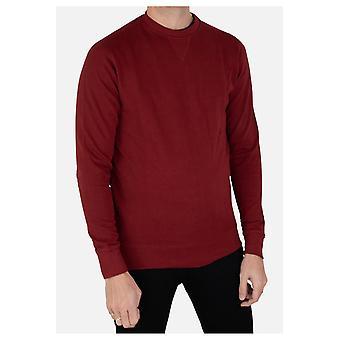 Fitted round-neck sweatshirt