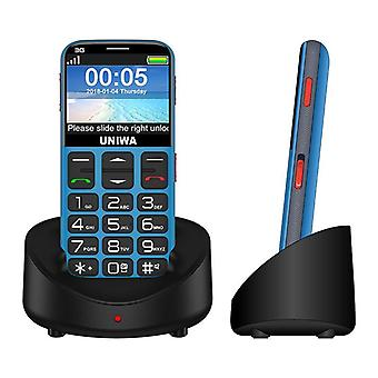 Κινητό τηλέφωνο 2.31 ίντσας 3g Wcama για τον ανώτερο γέρο