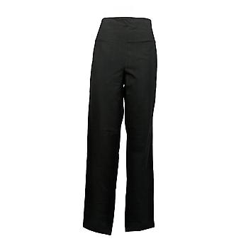 Women With Control Tall 1X Tummy Control Tushy Lifter Slim Leg Black A284093
