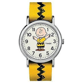 Timex Miesten kello Timex x Peanuts – Charlie Brown TW2R41100