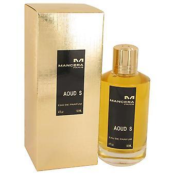 Mancera Aoud S Eau De Parfum Spray por Mancera 4 oz Eau De Parfum Spray
