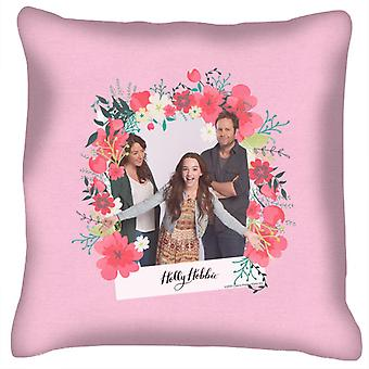Holly Hobbie With Robert And Katherine Cushion